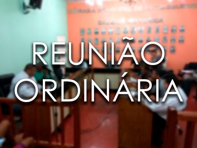 REUNIÃO ORDINÁRIA DA CÂMARA DO DIA 14/12/2017