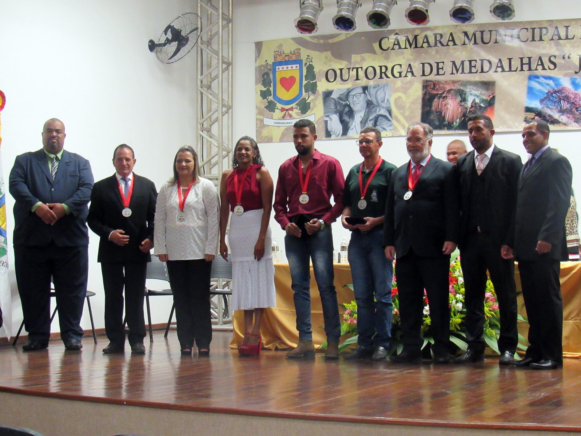 REUNIÃO ESPECIAL – ENTREGA DE MEDALHAS GUIMARÃES ROSA 2019